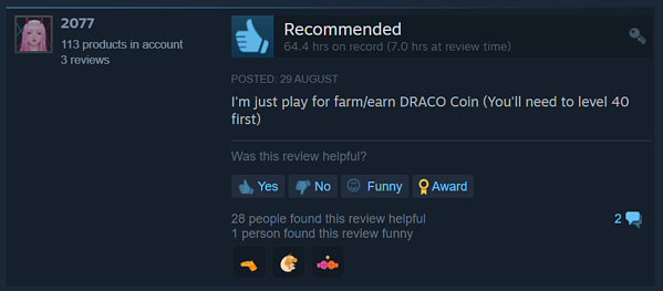 MIR4 Positive Review on Steam 2